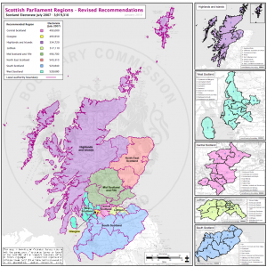 Boundary Commission map