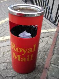 Royal Mail bin